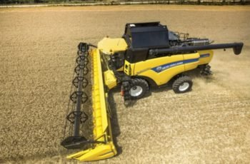 Зерноуборочный комбайн New Holland CX 8080