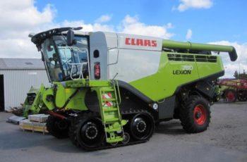 Зерноуборочный комбайн Claas Lexion 780