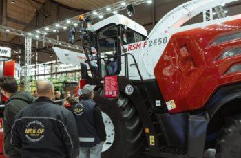 Новый «интеллектуальный» зерноуборочный комбайн Ростсельмаш F2650